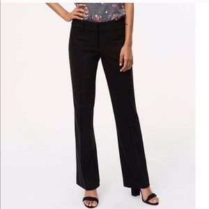 LOFT // NWT Julie Fit Black Pants